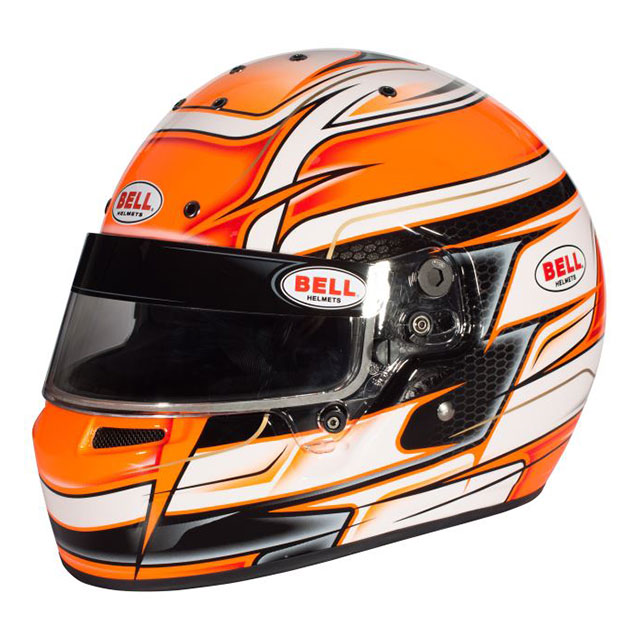 Casque Bell KC7-CMR Venom orange